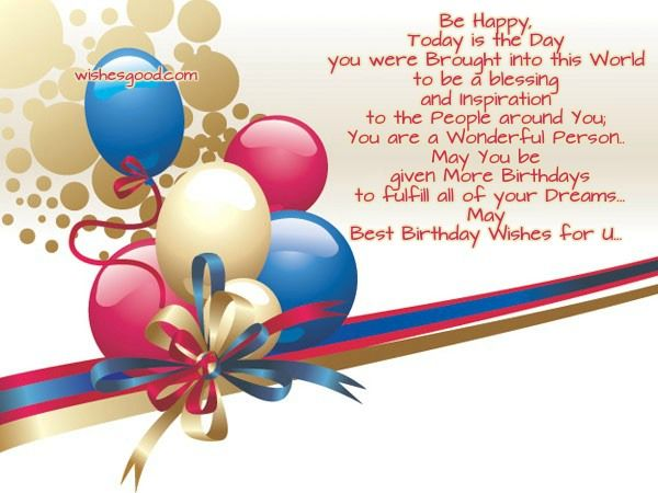 good birthday wishes for friend