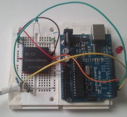 Need to read an RFID tag with Arduino? Check this tutorial! http://www.instructables.com/id/Reading-RFID-Tags-with-an-Arduino