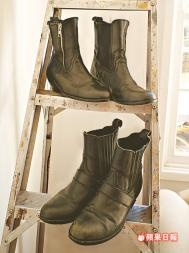 BOST Leather Zipt and Classic #Boots #BOST #vintage #leather #zipper @BOST LTD