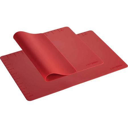 Cake Boss Countertop Accessories 2-Piece Silicone Baking Mat Set