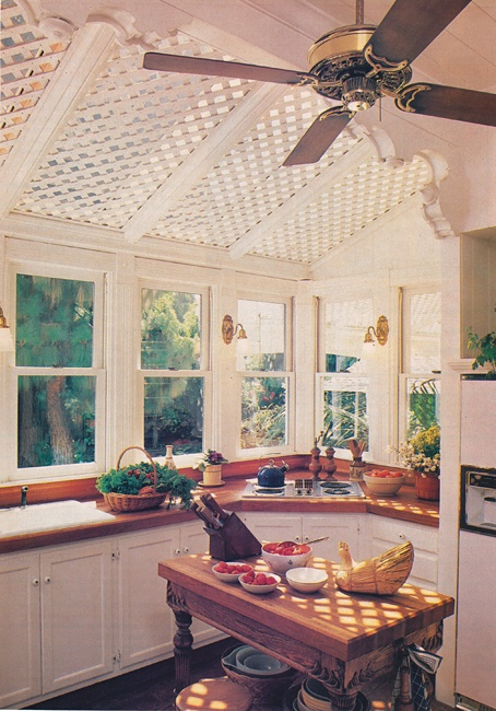 Perfect Lattice Skylight Covering (another Long Time Idea File Picture   No Idea  Where Itu0027s From