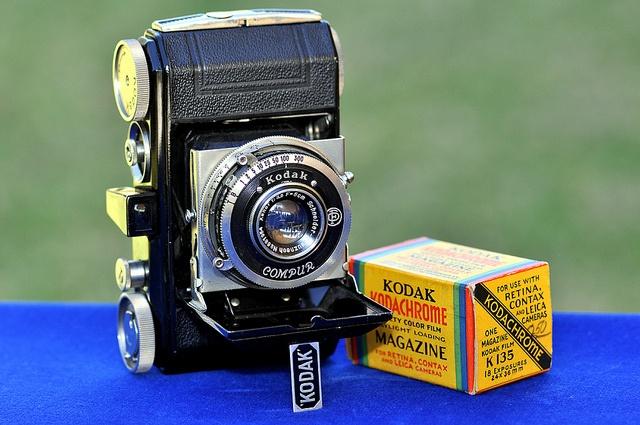 1934: RETINA I (117). Kodak AG. Stuttgart - Alemania by Coleccionando Camaras, via Flickr