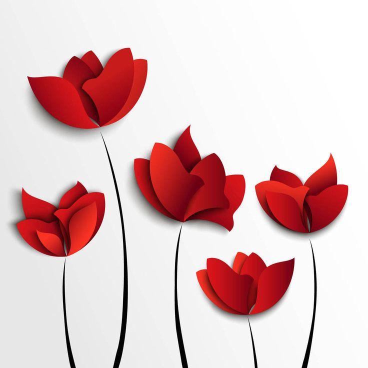 Картинки по запросу красные цветы