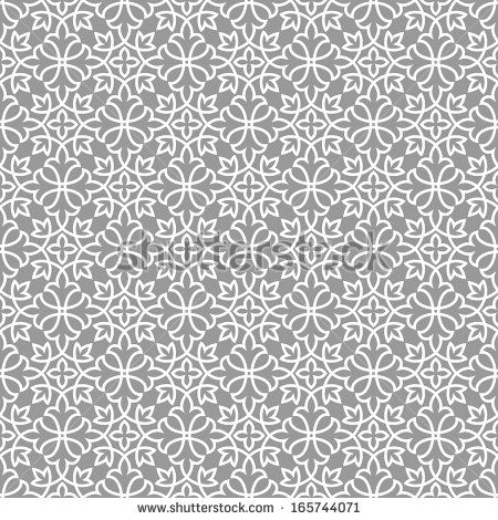 Ornamental pattern. Arabic seamless pattern.  Moroccan background. - stock vector
