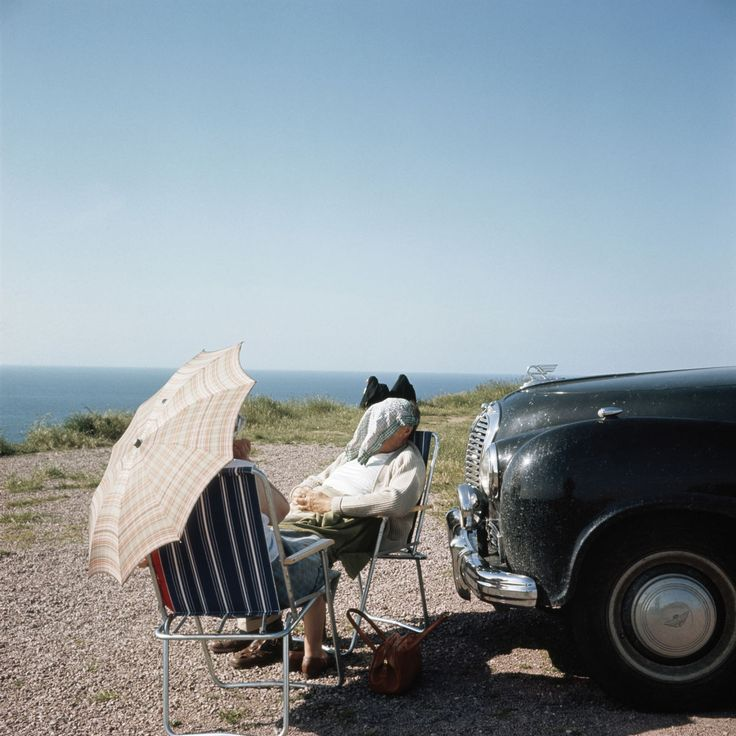 Photo by Jacques Henri Lartigue , Brittany (1960)