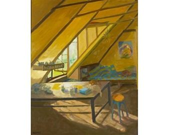 Studio interior By Marjorie Wallace