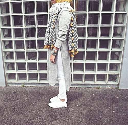 Ways a hijabi can wear white denim – Just Trendy Girls