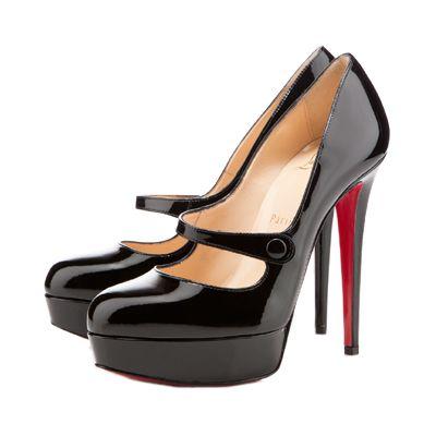 louboutin shoe prices - Christian Louboutin Relika 140 Black Mary Jane Pumps | *Birthday ...