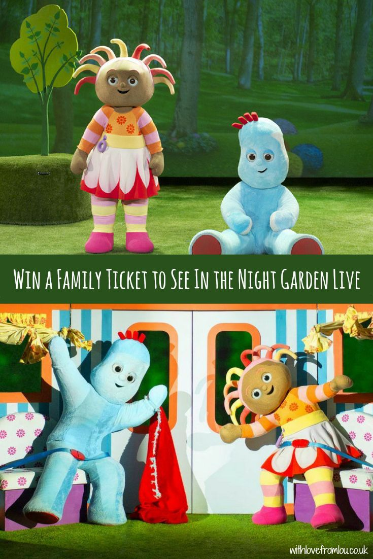 WIN A Family Ticket to See In the Night Garden Live! Click here to enter: http://withlovefromlou.co.uk/2018/01/win-tickets-night-garden-live/