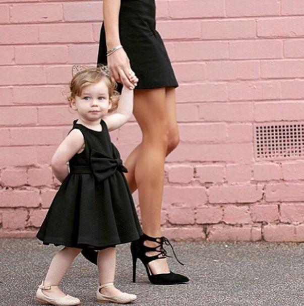 Rozalia Russian & Willow wearing Bardot and Bardot Junior #rozaliarussian
