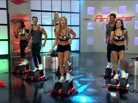 Air Climber Burn and Firm Workout with Brenda DyGraf - YouTube