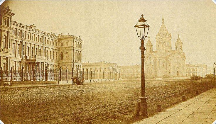 Благовещенская площадь (Труда).  1880-1890 гг.