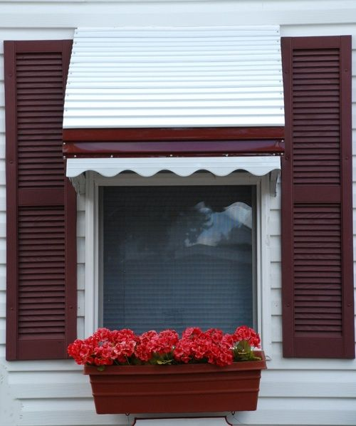 Window Awning Metal Window Awning Traditional Awnings