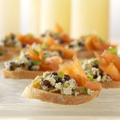 Sweet and smoky canapes holiday parties pinterest for Sweet canape ideas