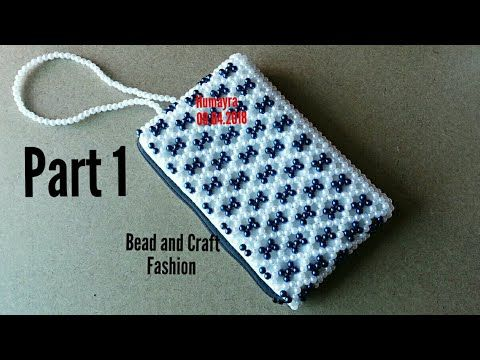 fab0d7b4be38d (52) How to make beaded bag   Crystal bag   Pearl bag   pouch   purse    পুঁতির ব্যাগ   DIY   Part 1 - YouTube