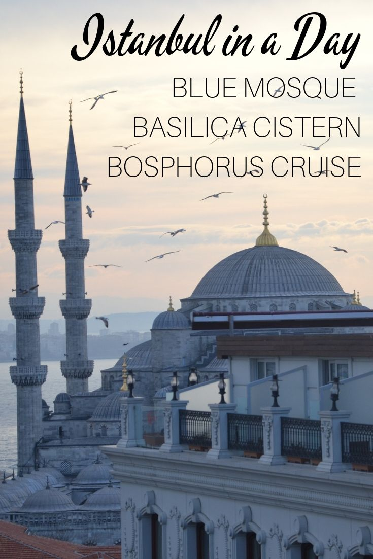 Istanbul in a Day | Blue Mosque | Basilica Cistern | Bosphorus Cruise