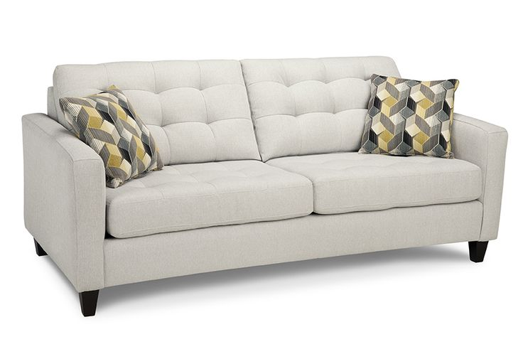 Style 4709, the tufted look is stunning.  This fabric, Chino Grey, is a grade 26 making this sofa $999.