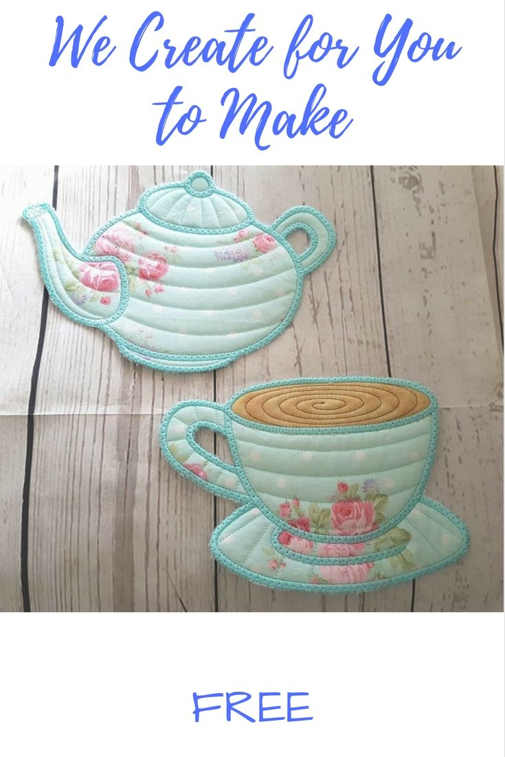 Coffee or Tea?  Sign up to our Newsletter to get  both Designs - multiple formats - Detailed Photo Instructions