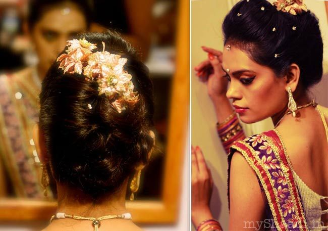 1000 Ideas About Wedding Hairstyles On Pinterest: 1000+ Ideas About Indian Bridal Hairstyles On Pinterest