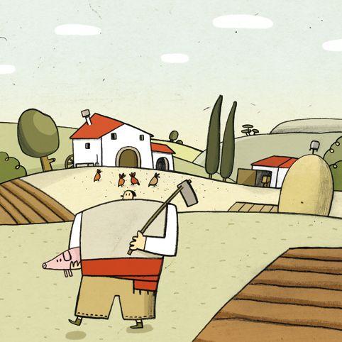 El gegant del pi: 4 il·lustracions