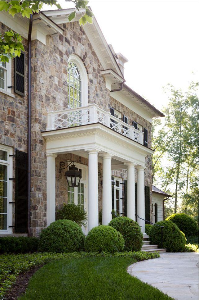 Exterior Home Ideas. Traditional Home Exterior. #HomeExterior #TraditionalExteriors