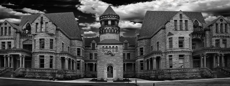 I grew up in the 1970s thinking it was a beautiful castle! The Ohio State Reformatory (known to locals as the Mansfield Reformatory), is an historic prison built between 1886 and 1910. It operated until a 1990 federal court ruling (the Boyd Consent Decree) ordered the facility to be closed. It was made famous by the film The Shawshank Redemption—very cool!