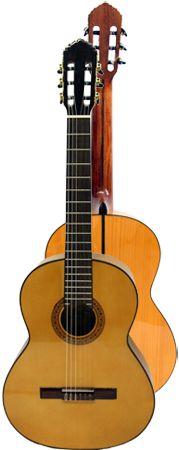 Ver Modelo B40Fa (Amarilla): Guitarra Flamenca del Constructor Francisco Bros, en el Blog de guitarra Artesana