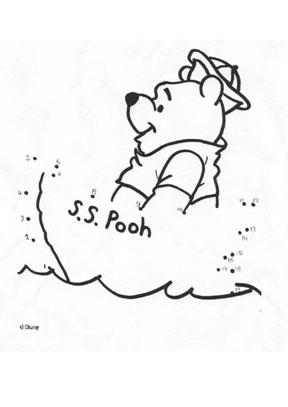 Winnie the Pooh sailor Disney Coloring Pages Pinterest