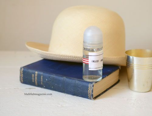 Homemade insect repellent