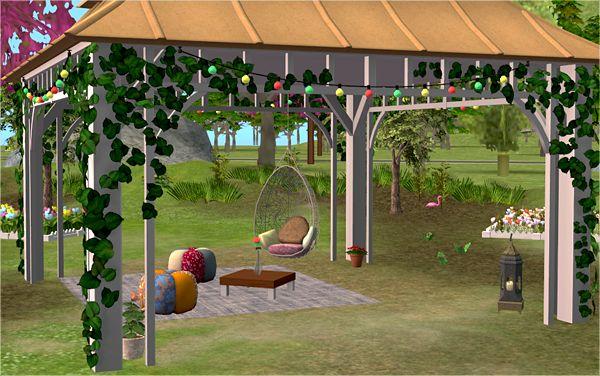 Bohemian garden 3t2 veranka buy mode set pinterest for Indoor gardening sims 4