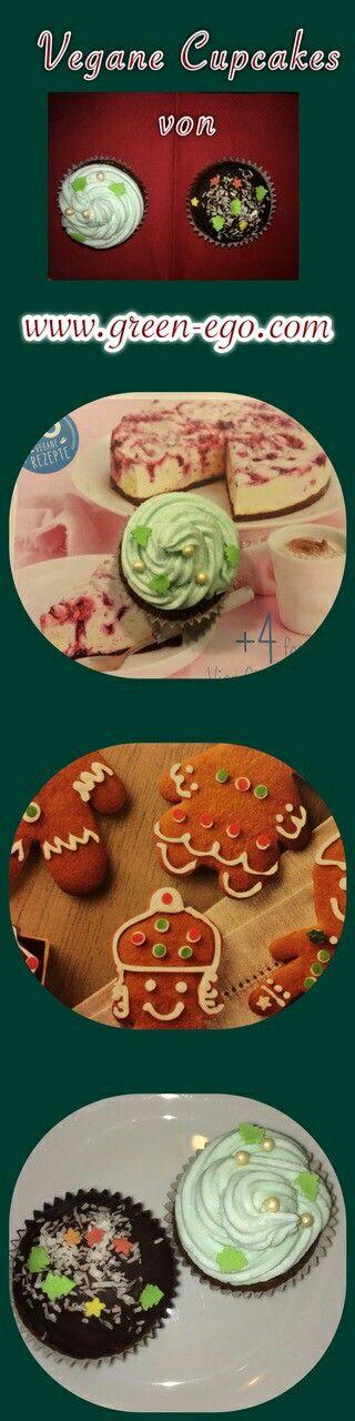 Vegane Cupcakes  mit Kokoscreme-Topping und mit Schokoladen-Topping  Die ersten veganen Cupcakes die wir selbst ausprobiert haben. Und sie haben optisch und geschmacklich überzeugt Be EGO  #cupcakes  #go2greenego #vegan #vegetarisch #gesundeErnährung #gesunderLebensstil #healthyeating #cleaneating #Smoothie #Juice #juicing #healthyfood #cleanfood #healthylifestyle #loveyourself
