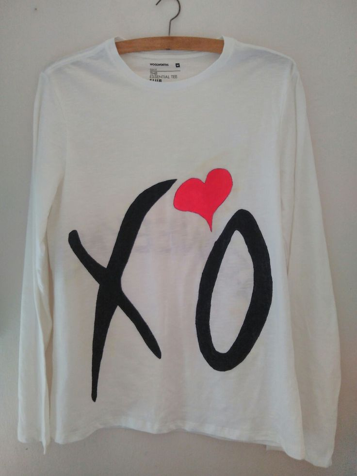 XO #theweeknd #xo #tshirts