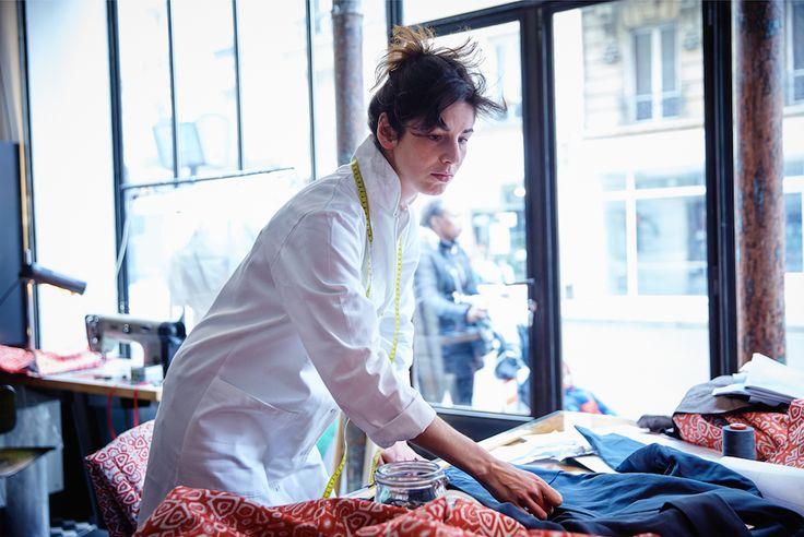 L'atelier Zeit Paris #zeit #zeitparis #zeitparisberlin #paris #berlin #fashion #ethical #atelier #workshop