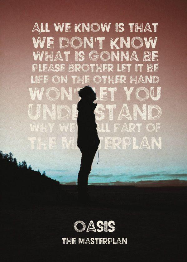 Lyric oasis lyrics masterplan : Best 25+ Masterplan oasis ideas on Pinterest | Oasis band songs ...