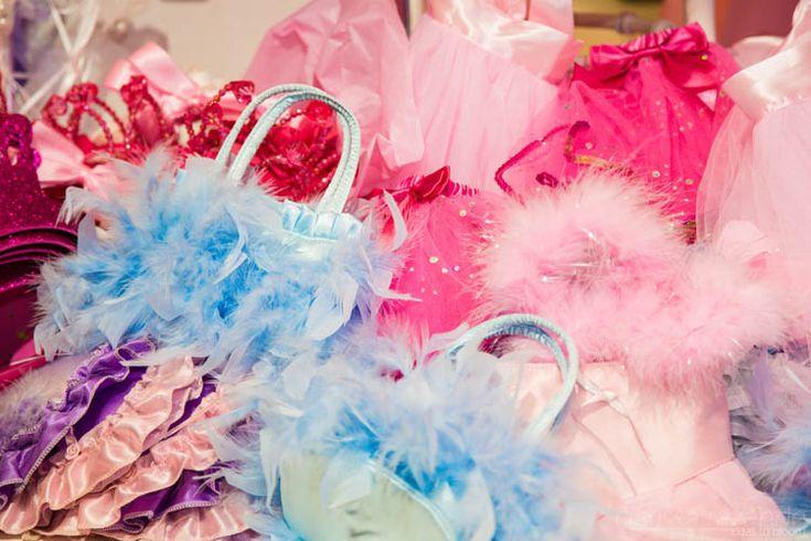 Lots of princess favors for the princess guests! #birthday #princess #pink