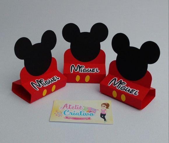 Porta Bis Duplo Mickey Mouse !  Confeccionamos em todos os temas !  Contate-nos e faça sua solicitação!