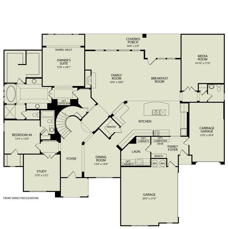 daventry ii 123 drees homes interactive floor plans