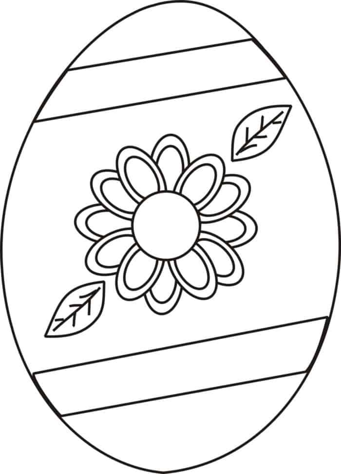 Large Easter Egg Coloring Pages Easter Egg Coloring Pages Coloring Easter Eggs Egg Coloring Page