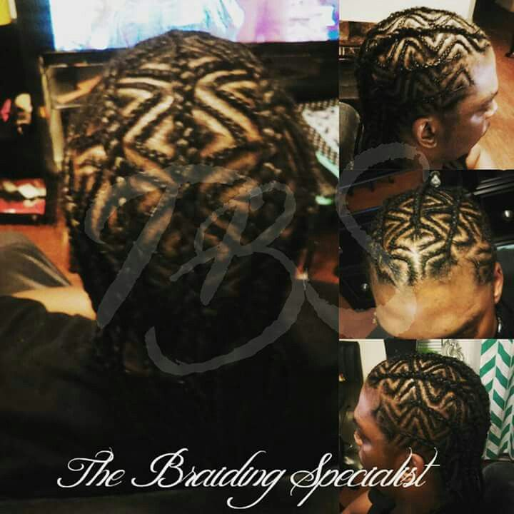 Male Braid Designs #TheBraidingSpecialist
