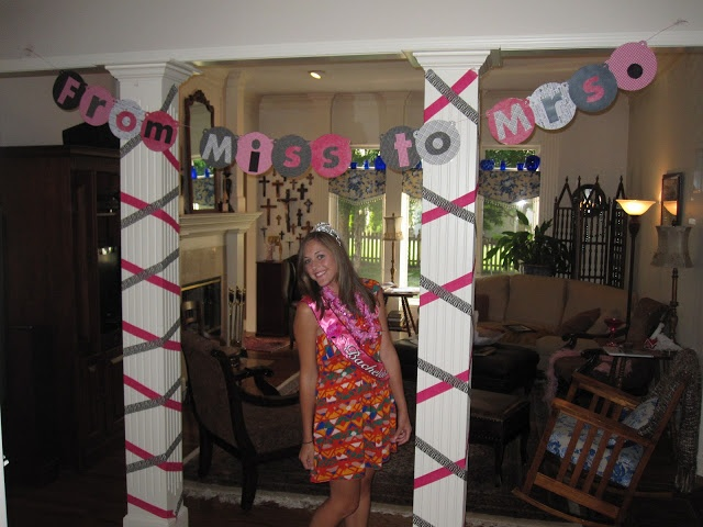Bachelorette Party Decoration. Like the saying on the sign. Used for Alyssa's Bach 7.27.13