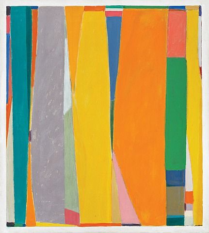 John Opper, 'Untitled (10E)', 1969, acrylic on canvas, 60 x 54 inches, as shown in exhibition at David Findlay Junior Fine Art in spring 2011.: John Opper, Inspiration, Art, Canvas, Acrylic, Exhibition, Painting