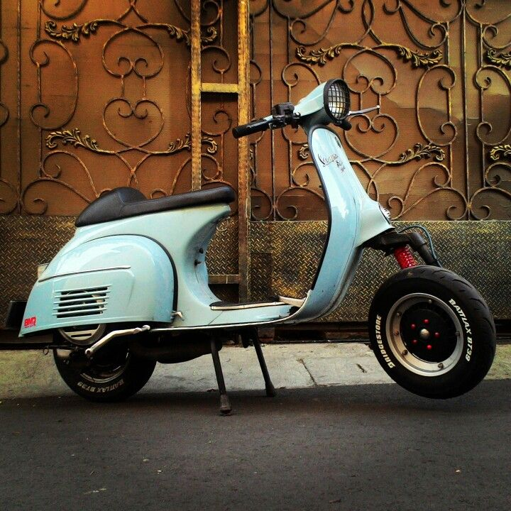 "Vespa ""SuperSport"" my version."