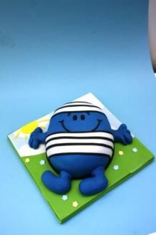 Mr Men - Mr Bump Cake class: Sun 22nd Jun