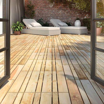 M s de 1000 ideas sobre baldosas para exterior en pinterest moldes para concreto pisos de - Baldosas de madera para exterior ...