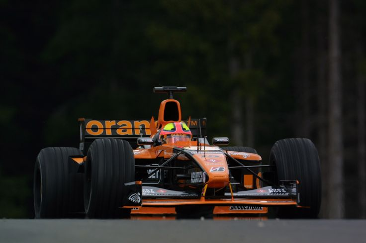 2001 A1-Ring Orange Arrows A22 Enrique Bernoldi