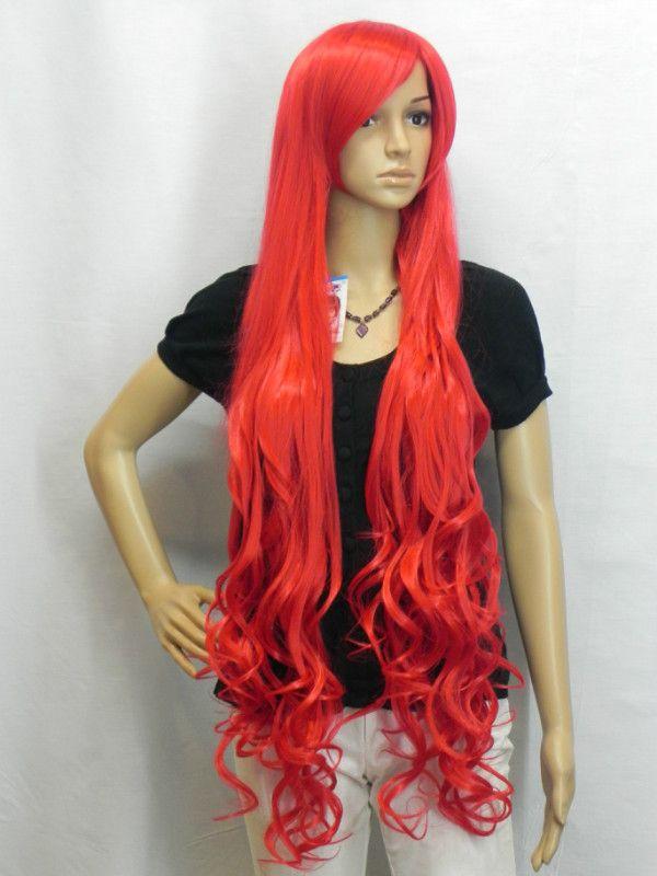 vrouwen goedkope goedkope halloween kostuum lange 120cm rood water wave pruik anime cosplay pruiken haar diy872 in Van harte welkom om onze winkel!directe fabrikanten, groot-en detailhandel, veel kopen stuur meerpruik kwaliteitsborging van cosplay pruiken op AliExpress.com | Alibaba Groep