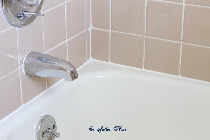 Best 25 bathtub repair ideas on pinterest bathtub redo for Bathroom caulking service