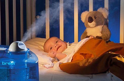 какой увлажнитель воздуха выбрать для ребенка