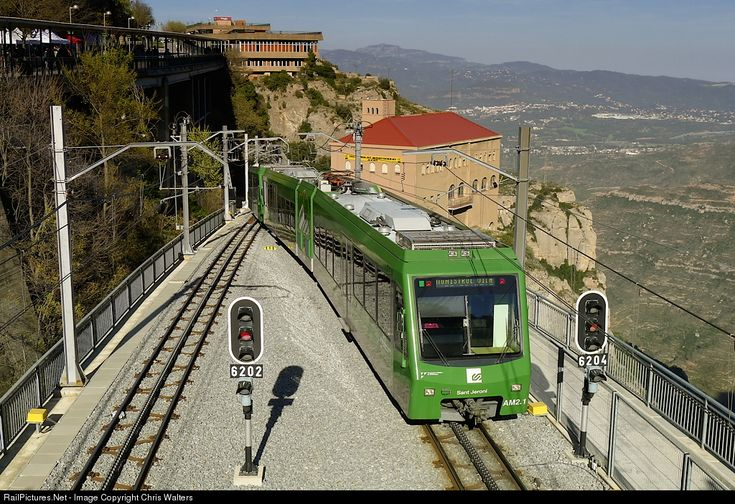 RailPictures.Net Photo: AM2 FGC Stadler at Montserrat, Spain by Chris Walters