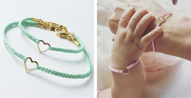 Matching mother&daughter bracelets